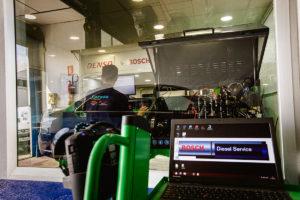 Laboratorio diesel Bosch Diesel Service