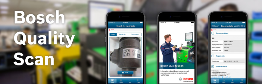 Rectificados Coreco - Bosch Quality Scan iOS