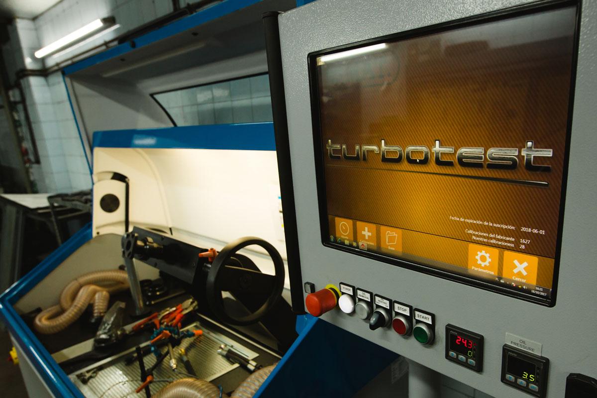 Rectificados Coreco - Reparación de turbos - Turbotest